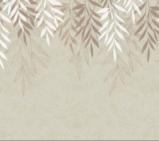 Фотообои Векторные свисающие листья 24345