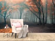 Фотообои осенний лес - 4
