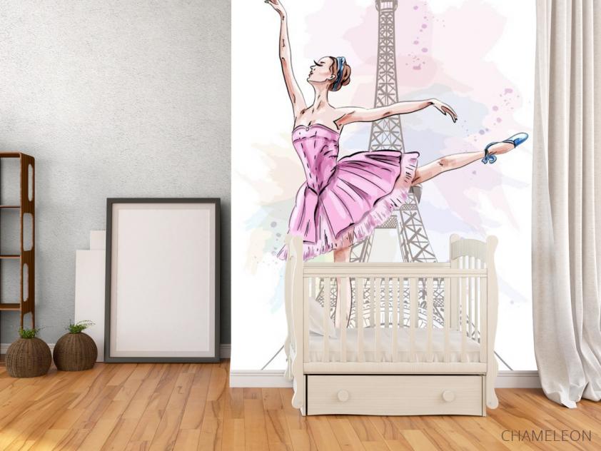 Фотообои Балерина для детской - 2