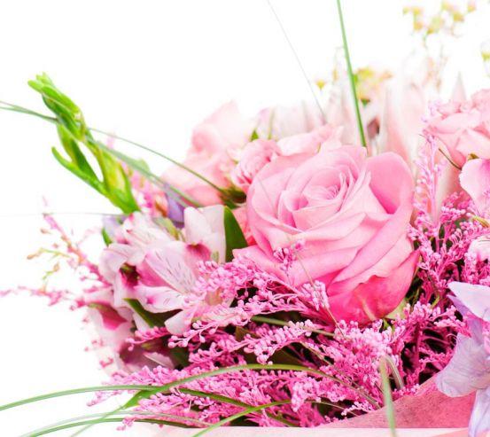 Фотообои Букет с розовыми розами 12667