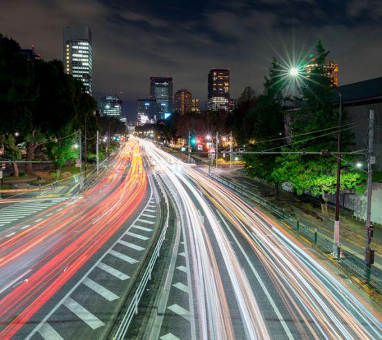 Фотошпалери Дорога в мегаполісі 22822