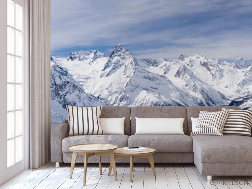 Фотообои снежные горы - 3
