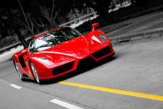 Фотообои FerrariEnzo