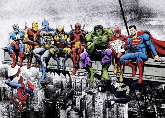 Фотообои Супер герои