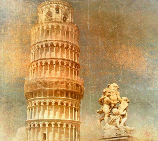 Пізанська вежа, Італія 4621