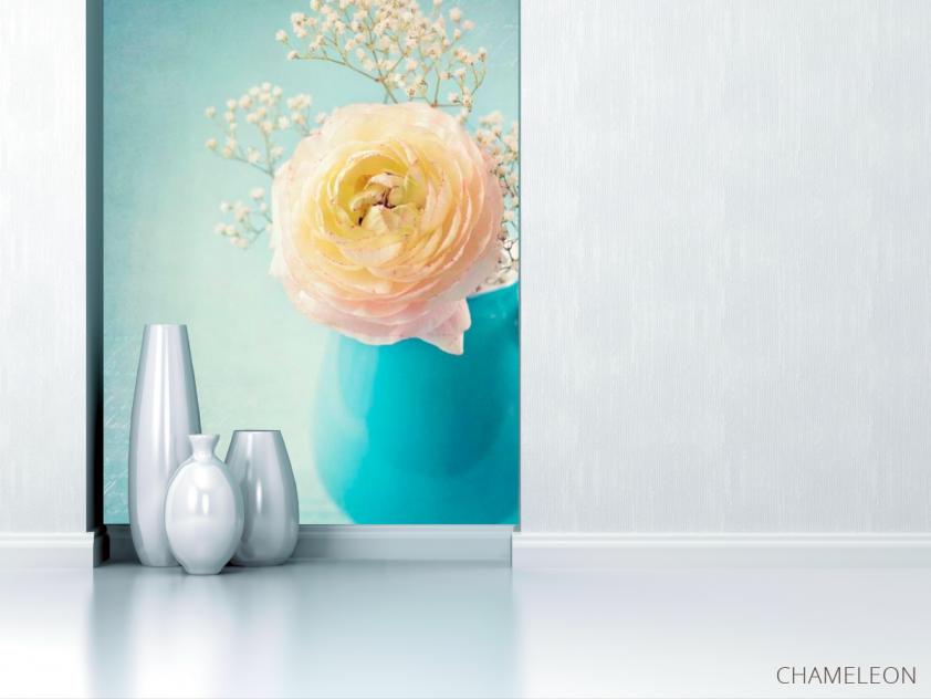 Фотообои Пион белый в вазе - 1