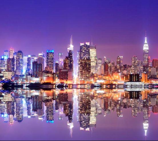 Фотообои Яркие краски города New York 13752