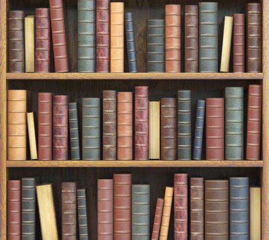 Фотошпалери Книжкові полиці 22808