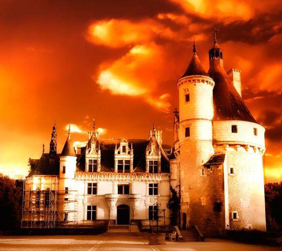 Фотообои Реставрация замка 8531