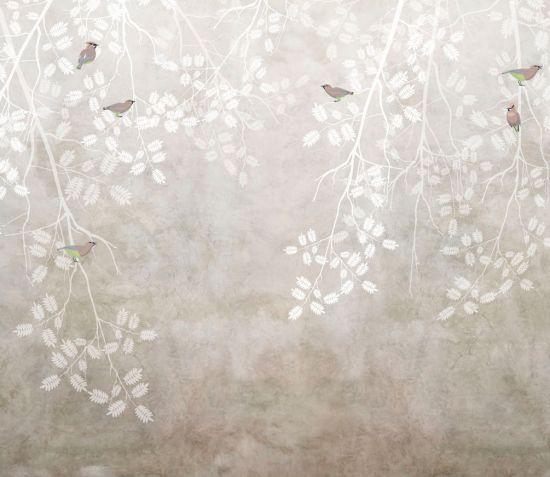 Фотообои Ветви с птицами