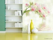 Фотообои Орхидеи над водой - 3