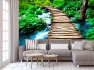 Фотообои Вода и мост - 3