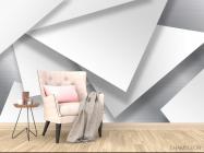 Фотообои 3д треугольники - 4
