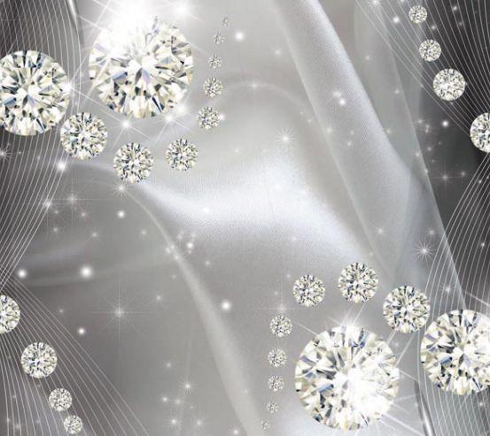 Фотообои Бриллиантовые шары  19324