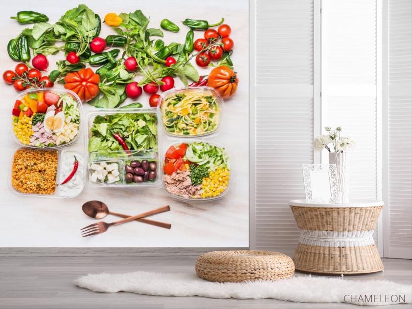 Фотообои еда и салаты - 2