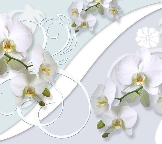 Фотообои Орхидеи 3д 18742
