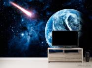 Фотообои Земля и комета - 2