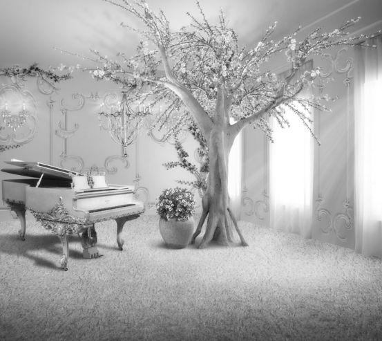Фотообои рояль 19482-h
