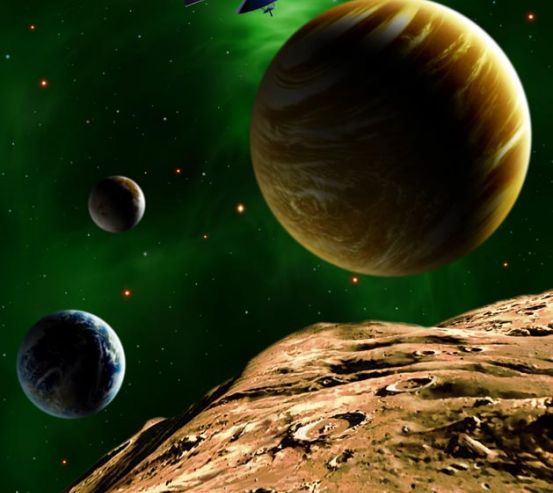 Фотообои Планеты 0770
