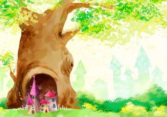 Фотообои Сказочные домики