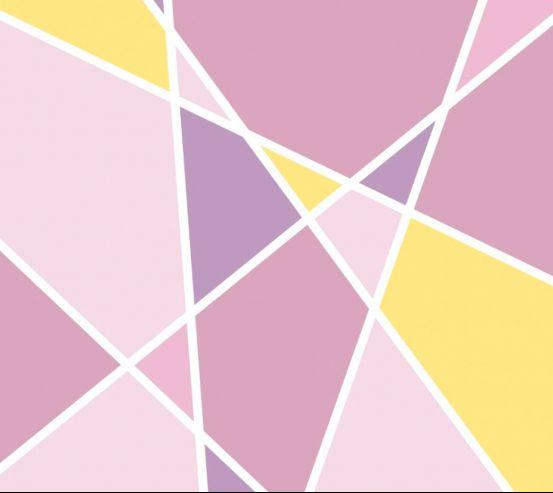 Фотообои Фиолетовая геометрия 19990