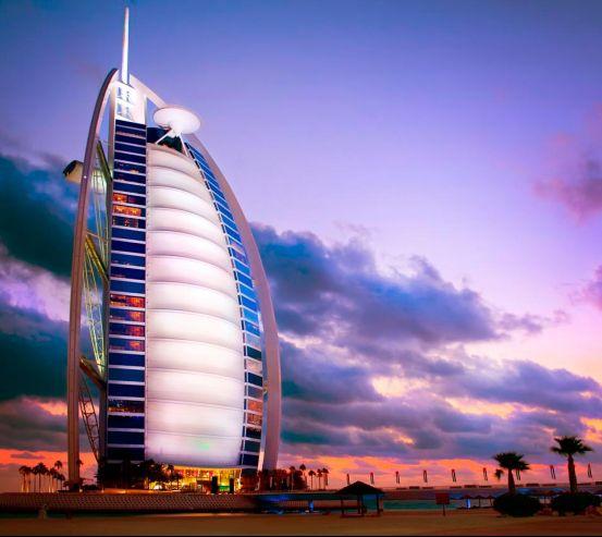 Фотообои Отель парус, Дубаи 3924