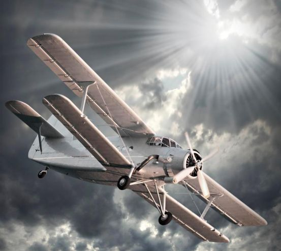 Фотообои Самолет 11263