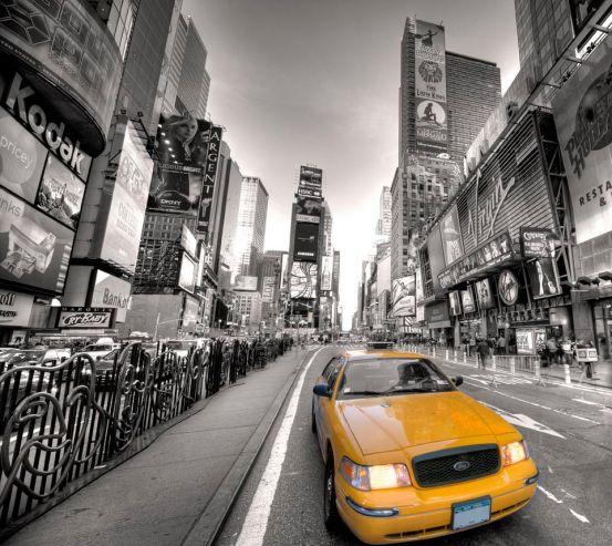 Фотообои Такси большого города 5626