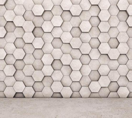 Фотообои шестиугольники 21164