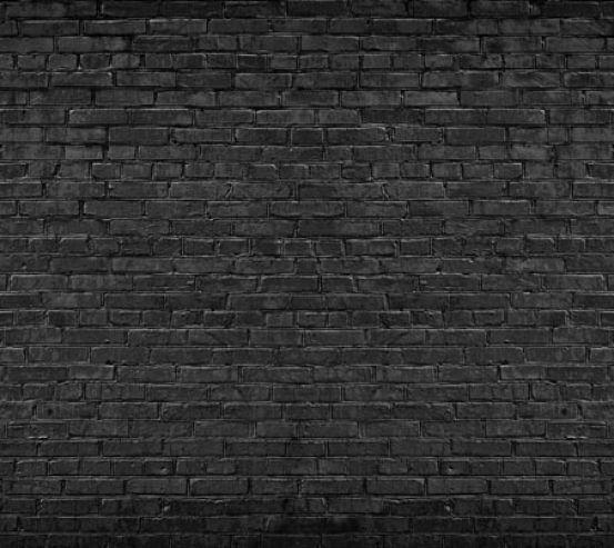 Фотообои черная кирпичная стена 21509