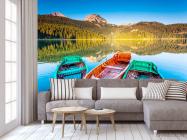 Фотообои Три лодки - 3