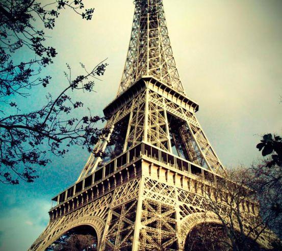 Фотообои Эйфелева башня 1243
