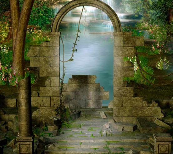 Фотообои Сказочная арка 8138