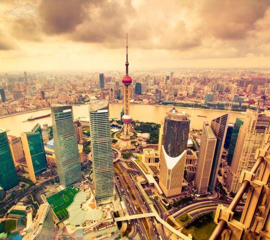 Фотообои Гонконг с высоты 4155