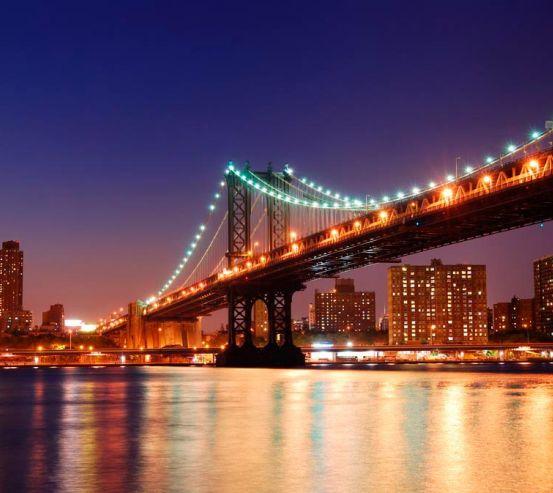 Фотообои Зачарованный  мост New York 8286