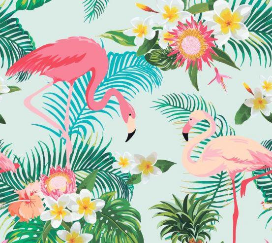 Фотообои Тропические листья 18720