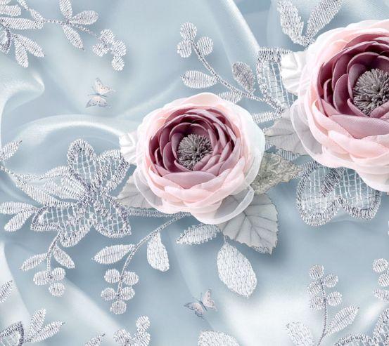 Фотошпалери Тканинні 3д квіти 20196