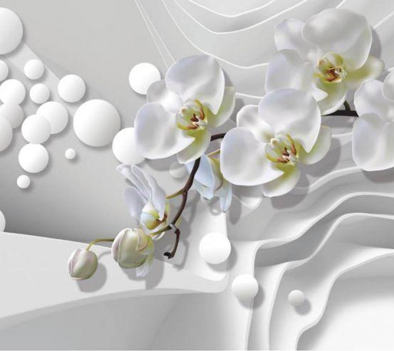 Фотообои 3д орхидеи 27384