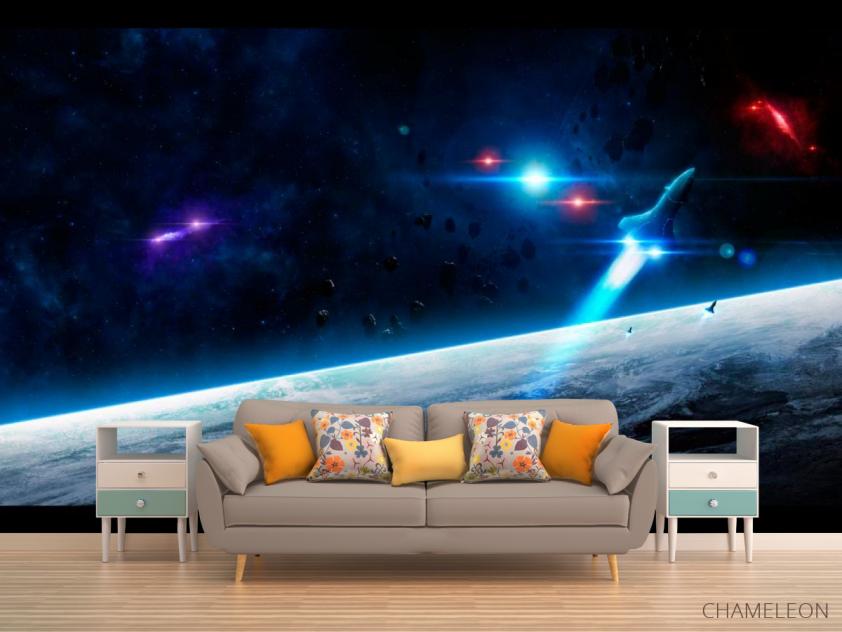 Фотообои Шатл и астероиды - 1