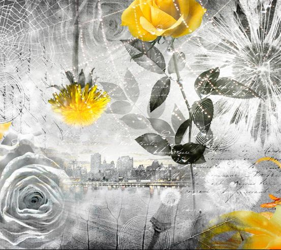 Фотообои 3d цветочная композиция 18794