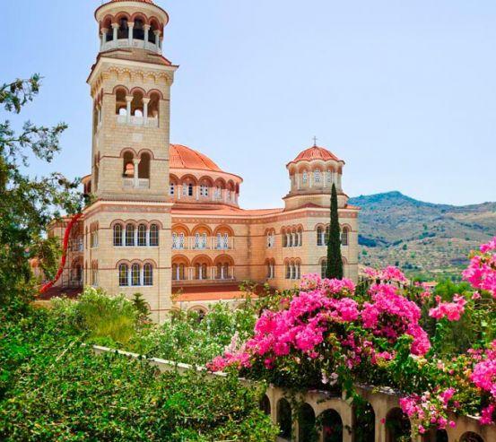 Фотообои Дворец в Греции 5095