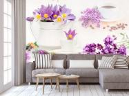 Фотообои в кухню Цветы - 3