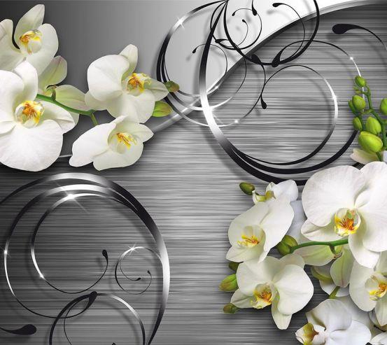Фотообои Орхидеи 3д 18746