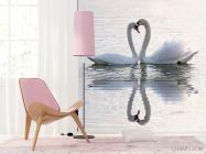 Фотообои Два лебедя - 4