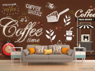 Фотообои Кофейная тематика - 1