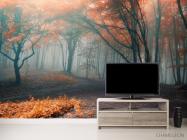 Фотообои осенний лес - 2