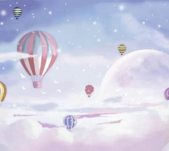 Фотообои воздушные шары 27068