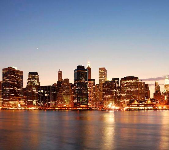 Фотообои Чикаго в воде 2059