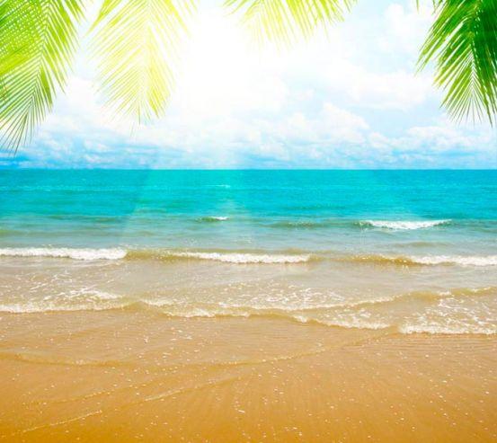 Фотообои Восход на лазурном пляже 3008