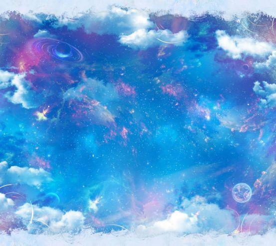 Фотообои Звёздное небо на потолок 24353